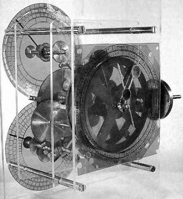 Detail - Antikythérský strojek