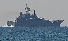 Černomořská flotila válečných lodí ruské federace (RF). Konflikt v Sýrii. Syria war.