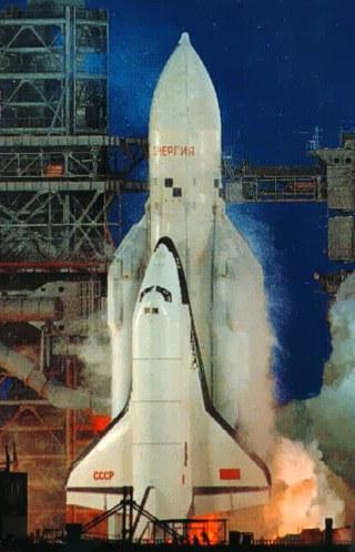 Sovětský raketoplán Buran - Eněrgija v dobách studené války mezi SSSR a USA