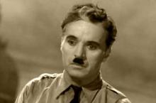 """Charlie Chaplin ve filmu """"Diktátor"""""""