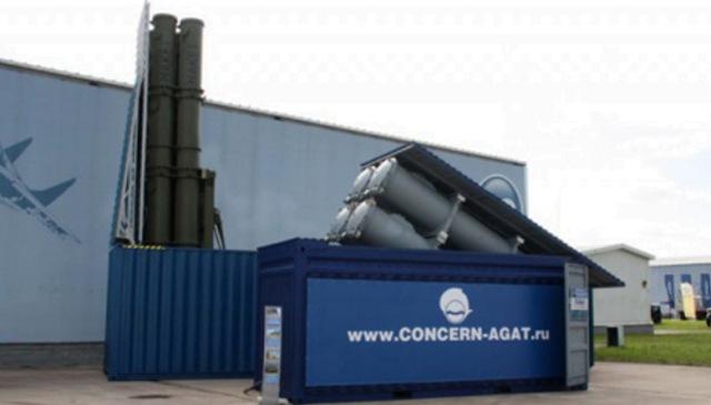 Ruský kontejnerový raketový komplex Club-K