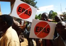 Ulicemi Eldoretu pochodovali farmáři z platformy NGOMA