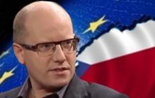 Bohuslav Sobotka(ČSSD) poklonkuje Německu