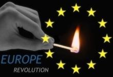 Evropské revoluce a nepokoje. European revolution 2013