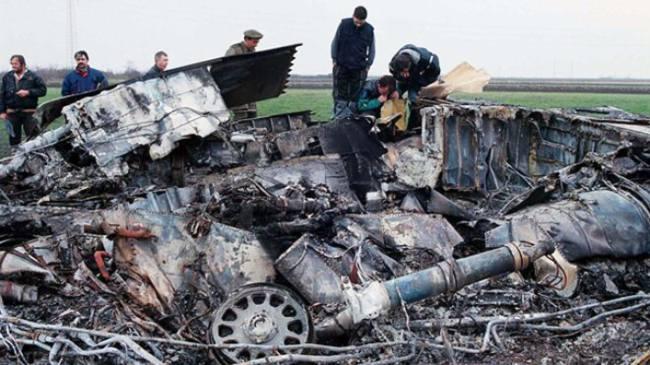 F-117 A sestřelený Srbskou armádou v roce 1999
