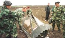 Sestřelený neviditelný letoun USA F-117 Nighthawk - Srbsko 1999