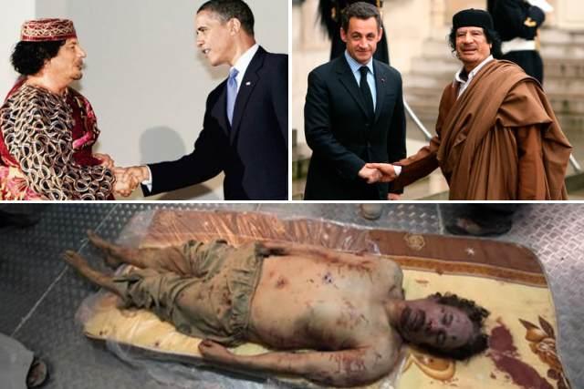 Smrt Muammara Kaddáfího