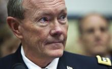 Náčelník generálního štábu USA Martin Dempsey, invaze USA do Sýrie