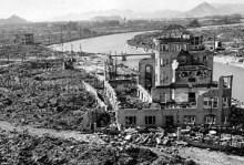 Svržení atomové bomby USA na Hirošimu v roce 1945