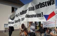 Lužičtí Srbové demonstrují proti těžbě uhlí na svém území
