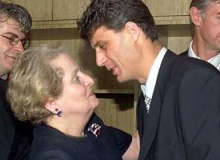 Madeleine Albright a Hashim Thaci - War in Yugoslavia