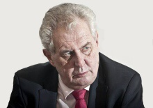 Český prezident Miloš Zeman