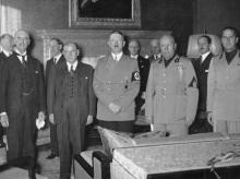 Mnichovská dohoda 1938, Hitler, Československo