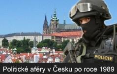Korupce a skandály České politiky po roce 1989