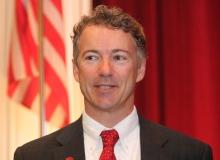 Politický republikánský aktivista Rand Paul, syn Rona Paula