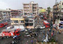 Exploze v tureckém městě Reyhanli