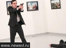 Turecký policista z ochranky zastřelil v Ankaře při vernisáží ruského velvyslance Andreje Karlova