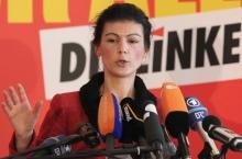 Místopředsedkyně Německé Levicové strany Sahra Wagenknechtová