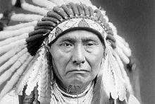 Indiánský náčelník Seattle 1854 USA