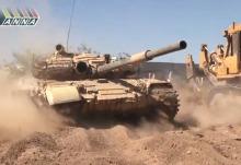 Syrská válka. Syrian war