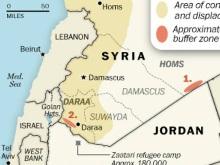 Syrský konflikt ohrožuje sousední Jordánsko