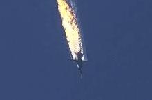 Turecko sestřelilo nad Sýrií Ruský bombardér SU24. (Turkey shoots down Russian plane SU 24 near Syria.)