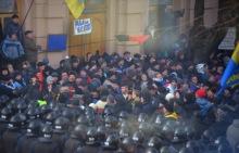 Nepokoje na Ukrajině 2013