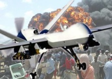 Americké špionážní bezpilotní letouny. Syria conflict